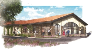 Wellness and Aquatic Center Rendering